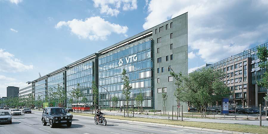 Außenansicht VTG Hamburg