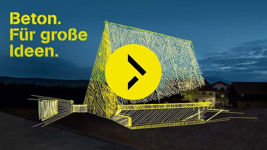 """Video """"Beton. Für große Ideen. Das Konzerthaus Blaibach."""
